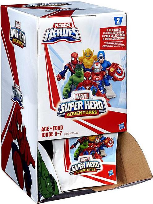 Marvel Playskool Heroes Super Hero Adventures Series 2 Mystery Box [24 Packs]