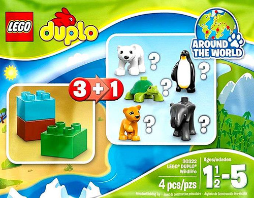 LEGO Duplo Wildlife Lion Mini Set #30322 [Bagged]