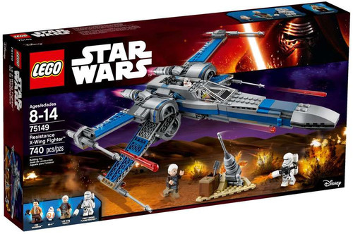 LEGO Star Wars The Force Awakens Resistance X-Wing Fighter Set #75149