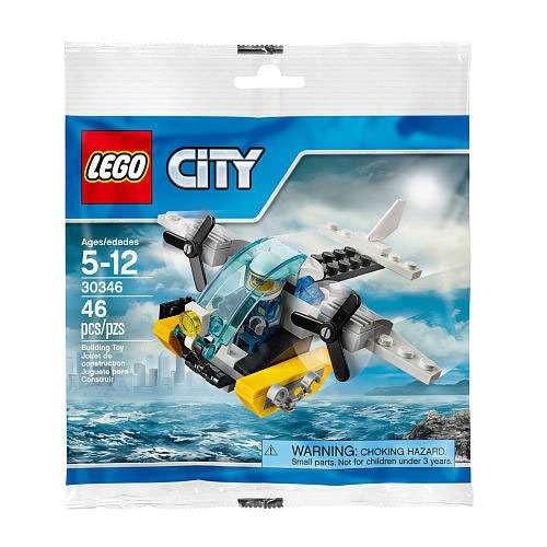 LEGO City Prison Island Helicopter Mini Set #30346 [Bagged]