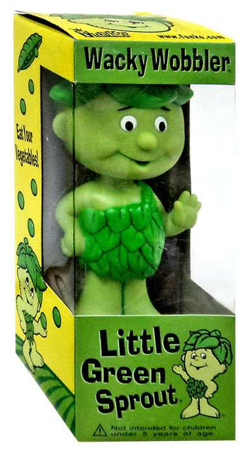 Funko Green Giant Wacky Wobbler Little Green Sprout Bobble Head