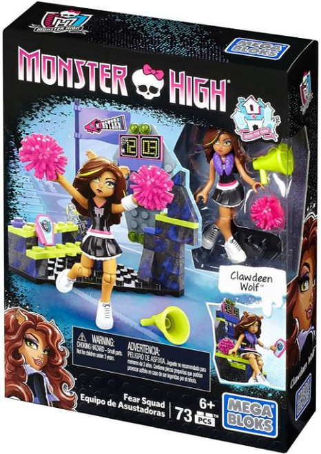 Mega Bloks Monster High Fear Squad Set #54037