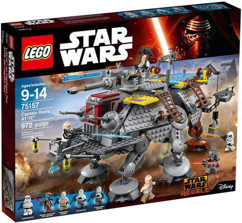 LEGO Star Wars Captain Rex's AT-TE Set #75157