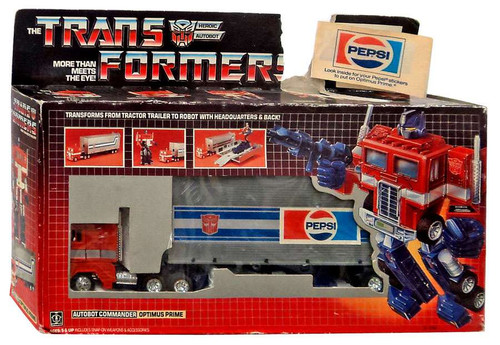 Transformers Generation 1 Optimus Prime Action Figure [Opened, Complete]
