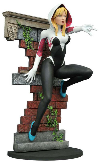 Marvel Gallery Spider-Gwen Exclusive 9-Inch PVC Figure Statue [Unmasked]
