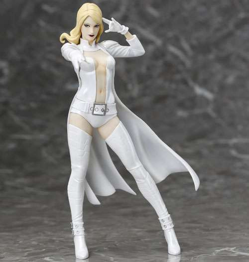 Marvel Now ArtFX+ Emma Frost Exclusive Statue [White Costume]
