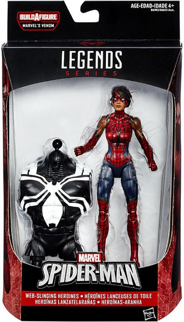 Marvel Legends Spider-Man Venom Series Spider Girl Ashley Barton Action Figure [Web Slinging Heroines]