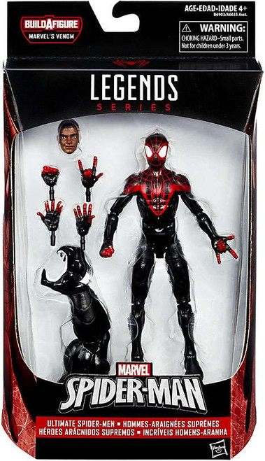 Marvel Legends Spider-Man Venom Series Miles Morales Action Figure [Ultimate Spider-Man]