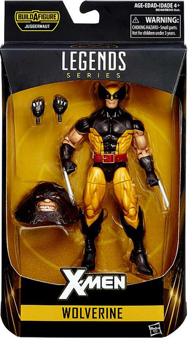 X-Men Marvel Legends Juggernaut Series Wolverine Action Figure [Brown Costume]