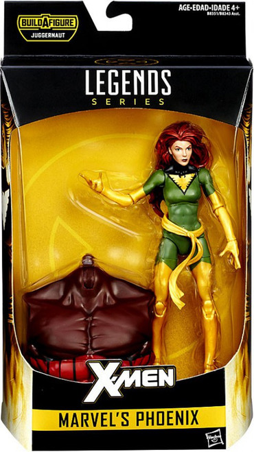 X-Men Marvel Legends Juggernaut Series Marvel's Phoenix Action Figure [Gold & Green]
