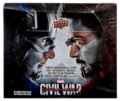 Marvel Captain America Civil War Trading Card Box [10 Packs]