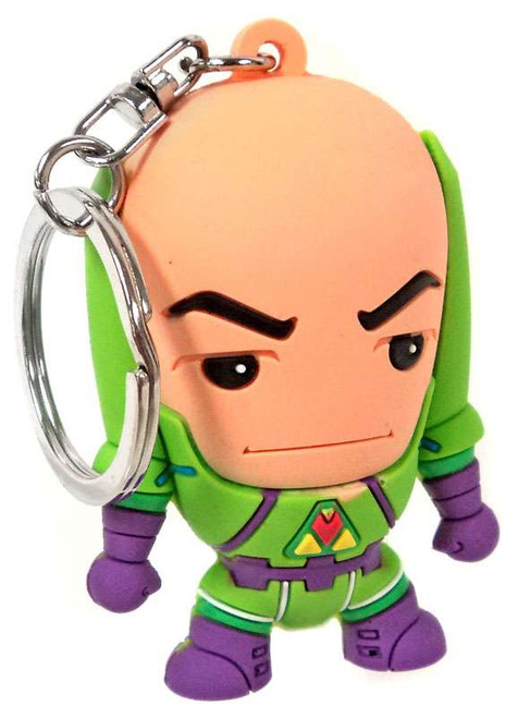 3D Figural Keychains DC Superpowers Lex Luthor Keychain [Loose]