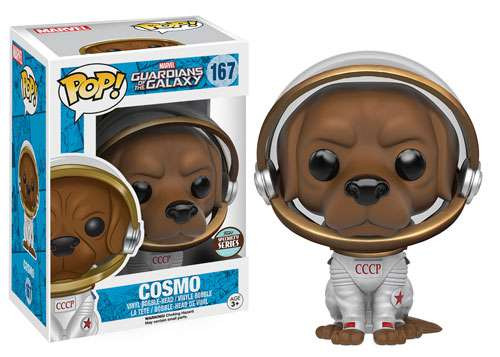 Funko Guardians of the Galaxy POP! Marvel Cosmo Exclusive Vinyl Bobble Head #167 [Specialty Series]