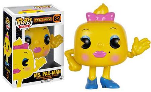 Funko Pac Man POP! Games Ms. Pac-Man Vinyl Figure #82 [Damaged Package]