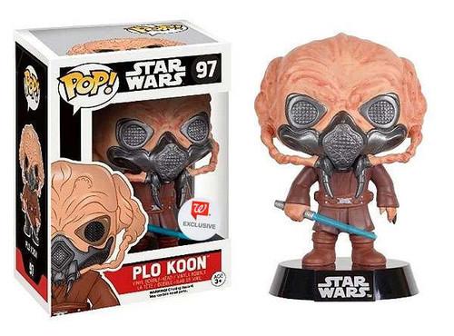 Funko POP! Star Wars Plo Koon Exclusive Vinyl Bobble Head #96