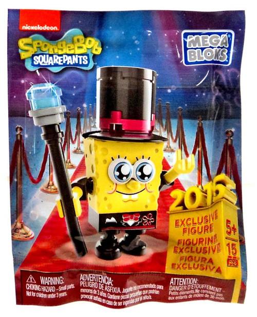 Mega Bloks Spongebob Squarepants Micro Figures Series 1 Spongebob 2015 Exclusive Figure #38420 [Bagged]