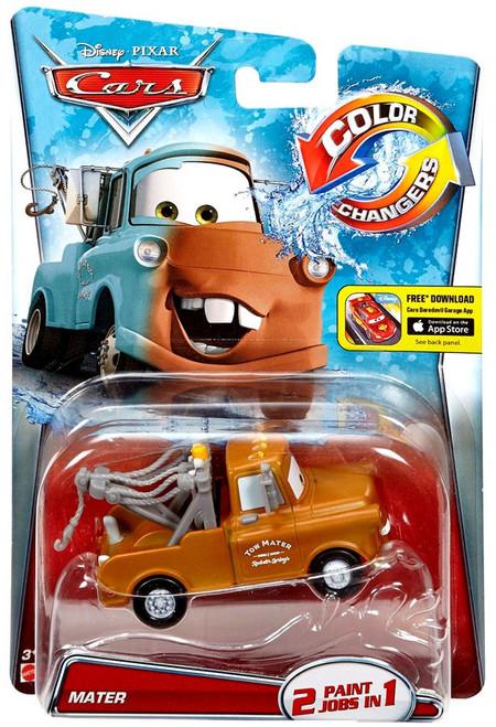 Disney / Pixar Cars Color Changers Mater (Brown) Diecast Car