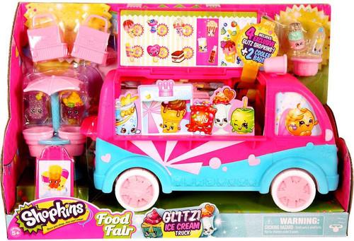 Shopkins Food Fair Glitzi Ice Cream Truck Exclusive Playset
