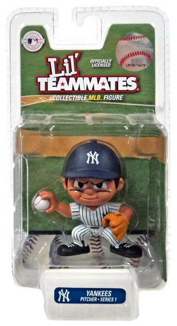 MLB Lil' Teammates Series 1 New York Yankees Pitcher Figure