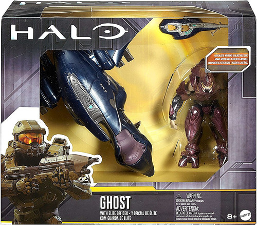 Halo Ghost with Elite Officer Action Figure Vehicle