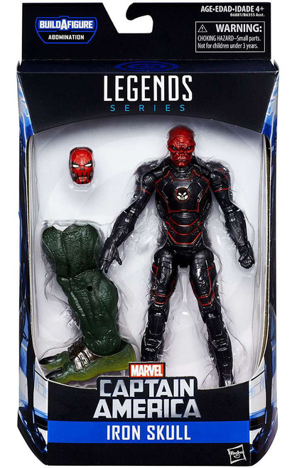 Captain America Civil War Marvel Legends Abomination Series Iron Skull Action Figure