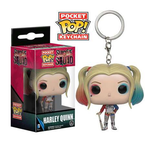 Funko DC Suicide Squad Pocket POP! Heroes Harley Quinn Keychain