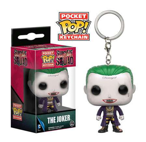 Funko DC Suicide Squad Pocket POP! Heroes The Joker Keychain