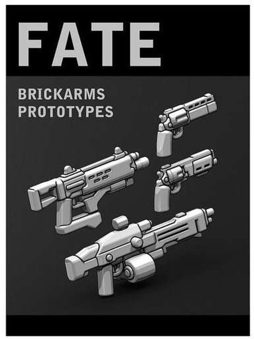 BrickArms Prototype Weapons Fate Pack 2.5-Inch Weapons Pack