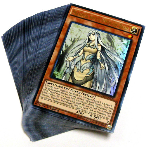 YuGiOh Trading Card Game Legendary Decks II Kaiba's Blue-Eyes Structure Deck [Loose]
