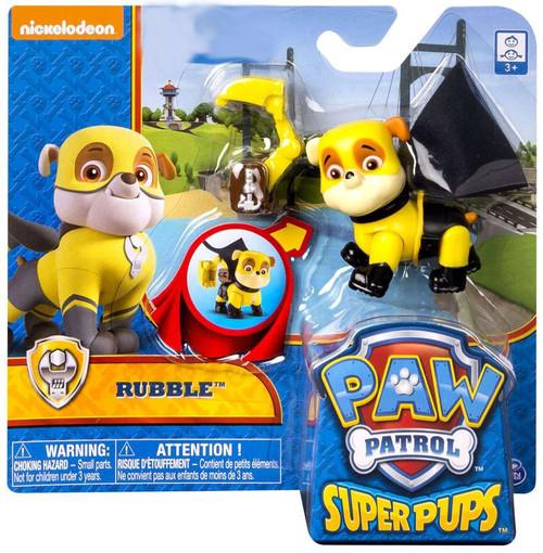 Paw Patrol Super Pup Rubble Exclusive Figure