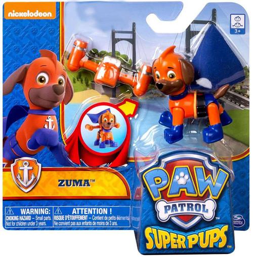 Paw Patrol Super Pup Zuma Exclusive Figure