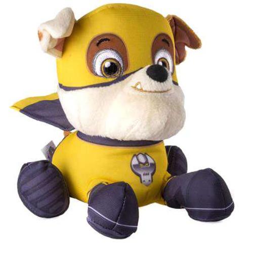 Paw Patrol Super Pups Pup Pals Rubble Exclusive 8-Inch Plush