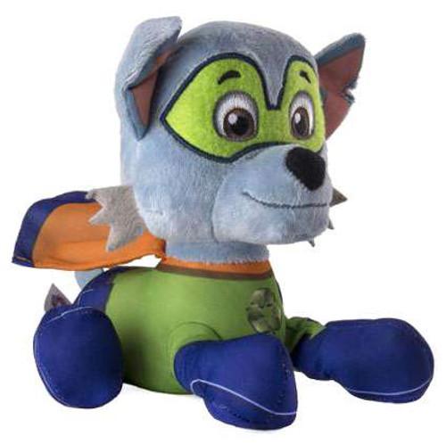 Paw Patrol Super Pups Pup Pals Rocky Exclusive 8-Inch Plush