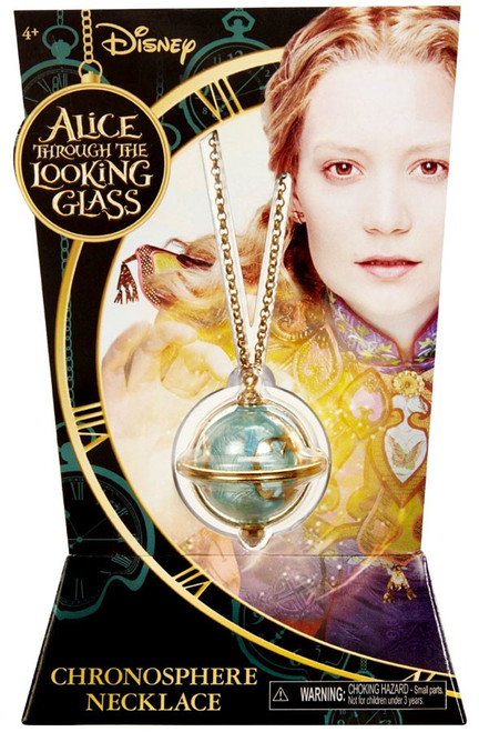Disney Alice Through the Looking Glass Chronosphere Necklace