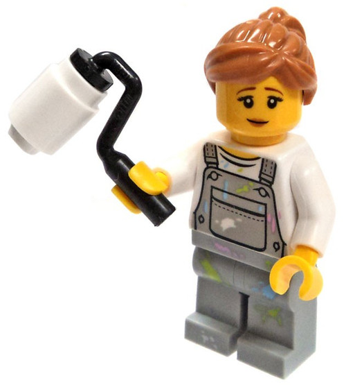 LEGO Female Painter Minifigure [Loose]