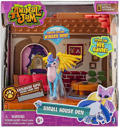 Animal Jam Small House Den Playset [Limited Edition Winged Deer]