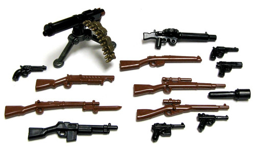 BrickArms World War I Battlefront WWI 2.5-Inch Weapons Pack