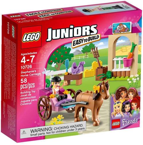 LEGO Juniors Friends Stephanie's Horse Carriage Set #10726