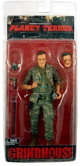 NECA Grindhouse Planet Terror Army Soldier Action Figure [Quentin Tarantino, Damaged Package]