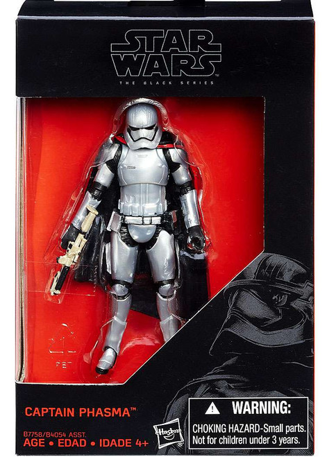 "Star Wars The Force Awakens Black Series Captain Phasma Exclusive Action Figure [3.75""]"