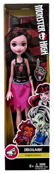 Monster High How Do You Boo? Draculaura 10.5-Inch Doll [with Pennant]