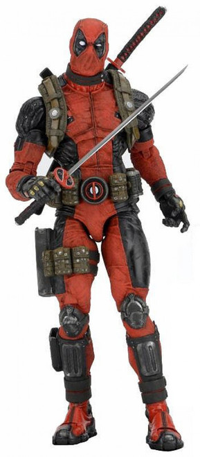 NECA Marvel X-Men Quarter Scale Deadpool Action Figure
