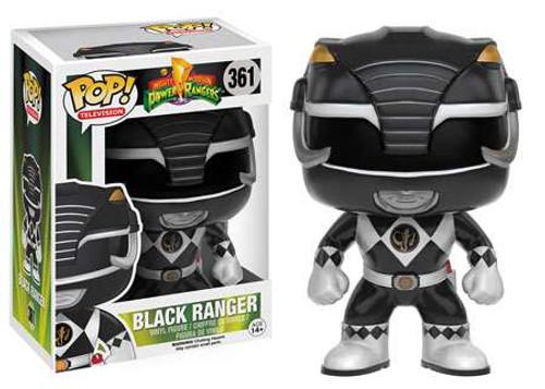 Funko Power Rangers POP! TV Black Ranger Vinyl Figure #361