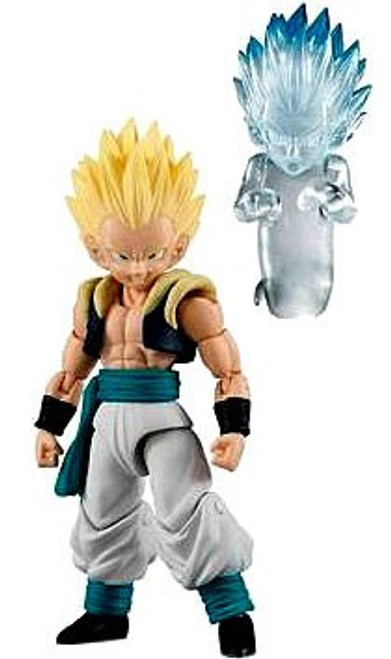 Dragon Ball Z Shokugan Neo Shodo Gotenks with Ghost 3.75'' PVC Figure