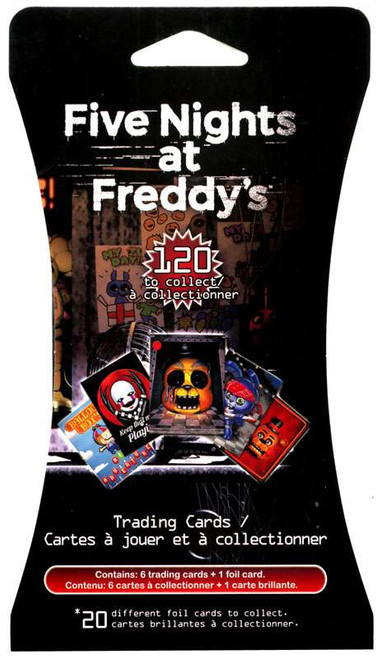 Five Nights at Freddy's Trading Card Pack [Hanger Package]