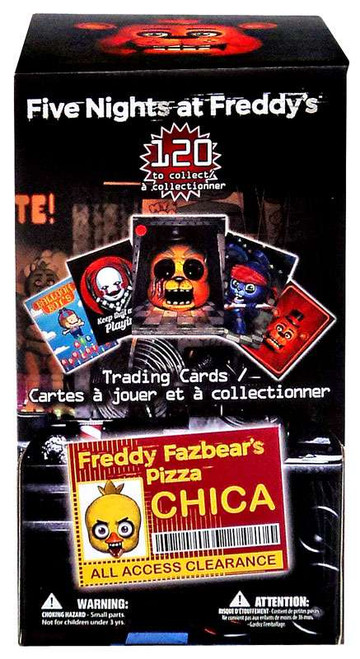 Five Nights at Freddy's Trading Card Gravity Feed Box [36 Packs]