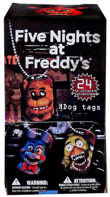 Five Nights at Freddy's Dog Tag Gravity Feed Box