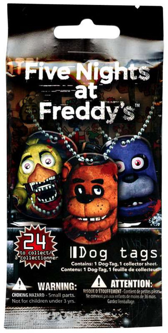 Five Nights at Freddy's Dog Tag Pack