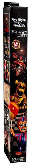 Five Nights at Freddy's Mini-Poster Mystery Pack