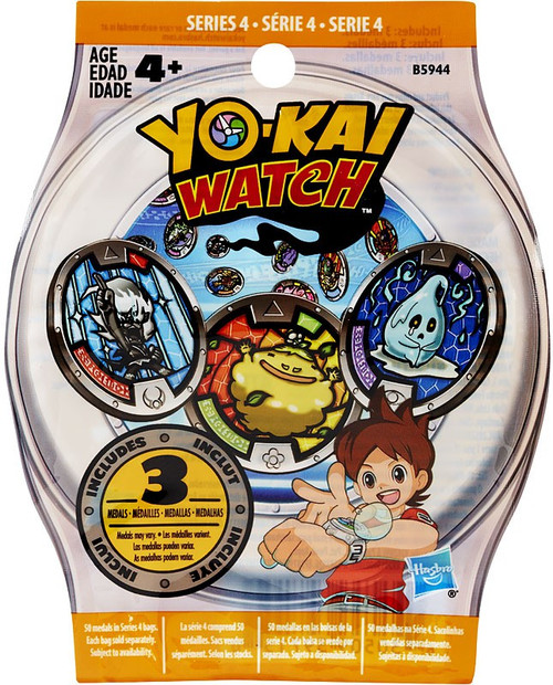 Yo-Kai Watch Series 4 YOKAI MEDALS Mystery Pack